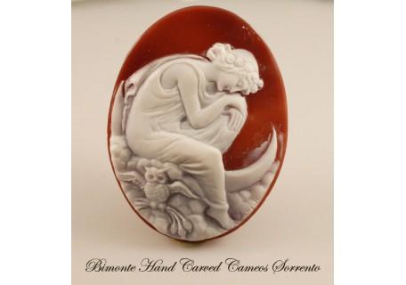 """""""Selene, Goddess of the Night"""" Cameo"""