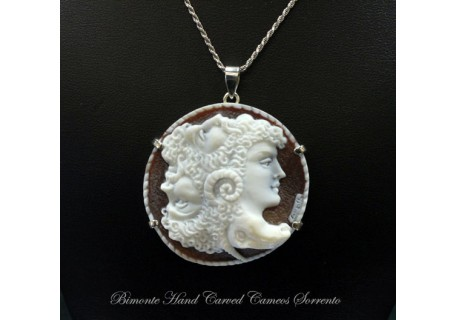 """A Chimera"" Cameo Necklace"