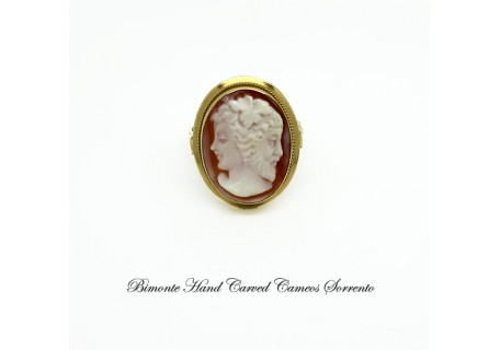 """Adam and Eve"" Cameo Ring"