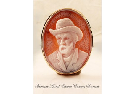 """Vincent Van Gogh"" Cameo Brooch and Pandant"