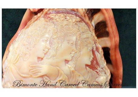 """Three Sisters"" Cameo Shell"