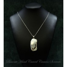 """Rosetta"" Cameo Necklace"