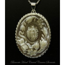 """The Botticelli's Three Graces"" Cameo Necklace"