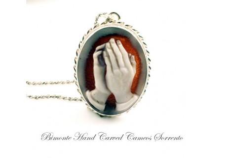 """""""Prayer"""" Cameo Necklace"""