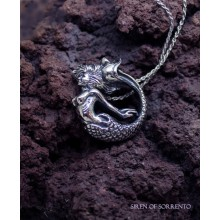 """The Mermaid of Sorrento"" Silver Necklace"