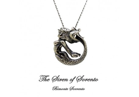 """""""The Mermaid of Sorrento"""" Silver Necklace"""