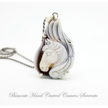 """Pegasus"" Cameo Necklace"