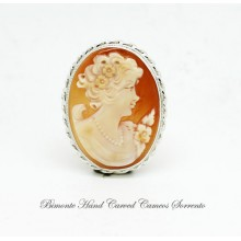 """Traditional "" Cameo Brooch and Pendent"