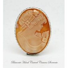 """Traditional"" Cameo Brooch and Pendant"