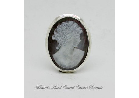"""Ceres"" Cameo Brooch and Pendant"