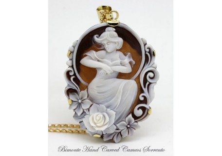 """""""Mucha"""" Cameo Necklace"""