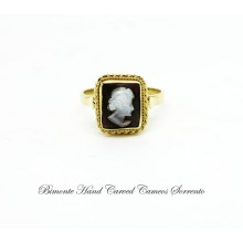 """Bright"" Cameo Ring"