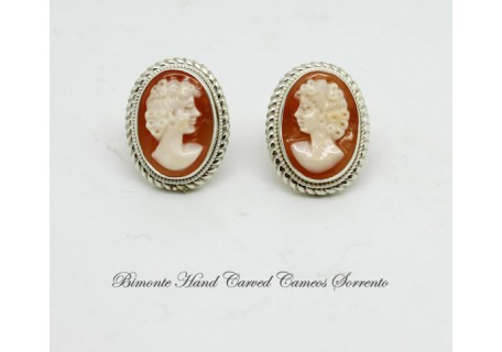 """Traditional"" Cameo Earrings"