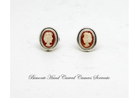 """Tiny"" Cameo Earrings"