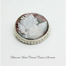 Mother of Pearl Brooch and Pendant