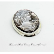 Cerere Cameo Brooch and Pendant