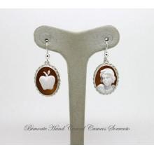 """""""Snow White"""" Earrings"""