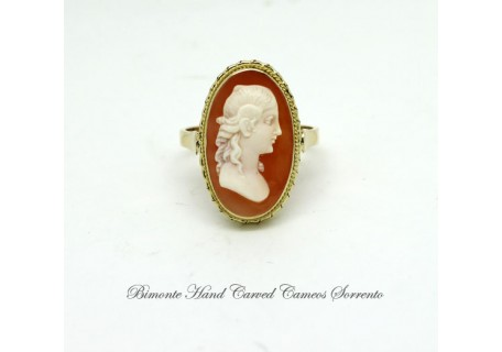 """The Beauty"" Antique Cameo Ring"