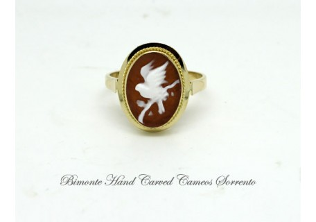 """Little Bird"" Cameo Ring"