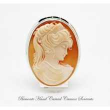 """Era"" Cameo Brooch and Pendant"