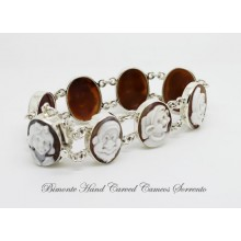 """SnowWhite and the Seven Dwarfs"" Cameo Bracelet"