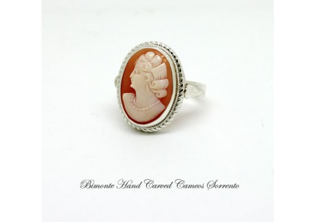 """""""Old"""" Cameo Ring"""