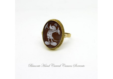 """Mickey"" Cameo Ring"