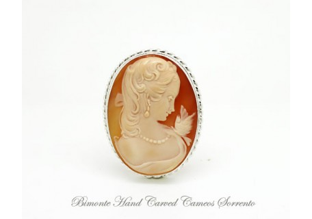 """Dolce Venere"" Cameo Brooch and Pendant"