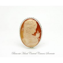 """""""Dolce Venere"""" Cameo Brooch and Pendant"""