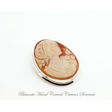 """Little Bird"" Cameo Brooch and Pendant"