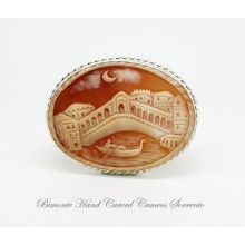 """Venice"" Cameo Brooch and Pendant"
