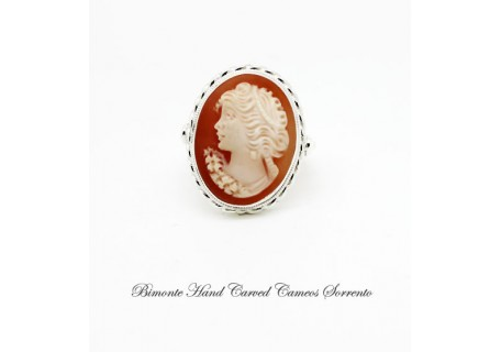 """Bella"" Cameo Ring"