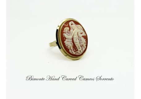 """Three Graces"" Cameo Ring"