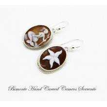 """The Mermaid and the StarFish"" Cameo Earrings"