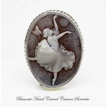 """The Dancer"" Cameo Brooch and Pendant"