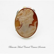 """""""Cerere"""" Cameo Brooch and Pendant"""
