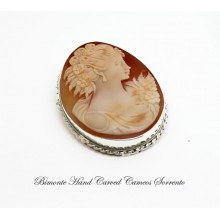 """""""Girl"""" Cameo Brooch and Pendant"""