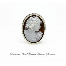 """""""Baccante"""" Cameo brooch and pendant"""