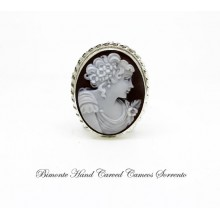 """""""Flora"""" Cameo Brooch and Pendant"""