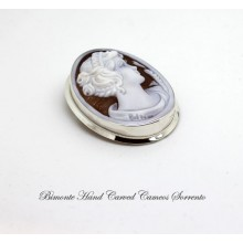 """Young Cerere"" Cameo Brooch and Pendant"