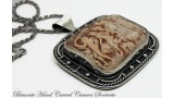 """Il Carro di Cerere"" Cameo Necklace"