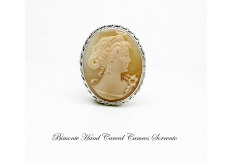 """Venere"" Cameo Brooch and Pendant"