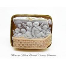 """"""" Basket of Charrobs"""" Cameo"""
