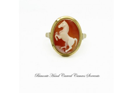 """The Horse"" Cameo Ring"