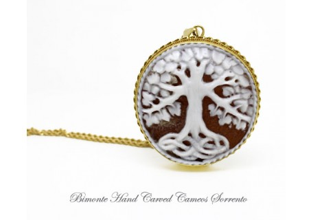"""The Tree of life"" Cameo Necklace"