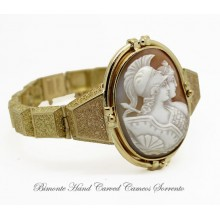 """The Wisdon and the Beauty"" Antique Cameo Bracelet"