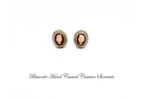 """""""Tiny"""" Cameo Earrings"""