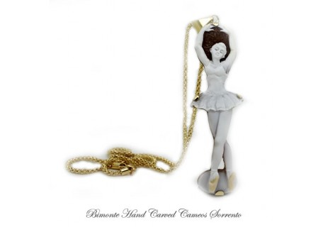 """Ballerina"" Cameo Necklace"