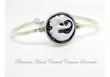 """The Siren of Sorrento"" Cameo Bracelet"
