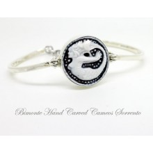 """The Siren of Sorrento"" Cameo Bracelet"
